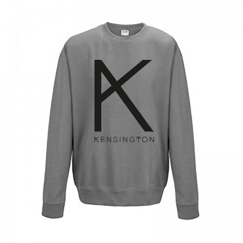 "Sweater ""K"" (unisex, steel grey)"