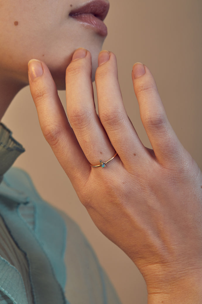 Mini Nestled Ring