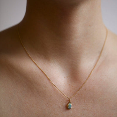 Limited Edition Small Opal Pendant - Web Exclusive