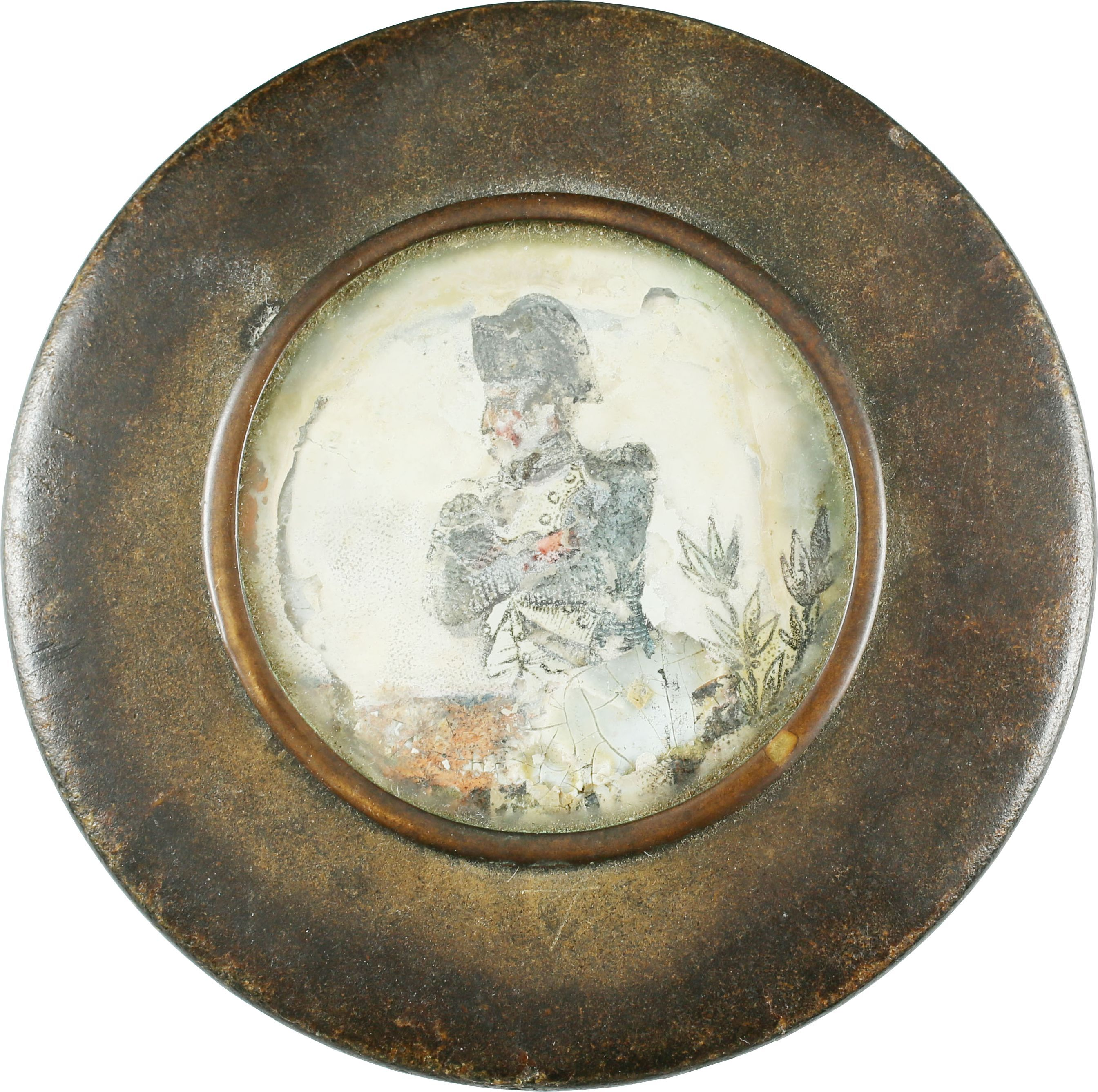 Admiral Nelson Portrait On English Snuff Box - Product