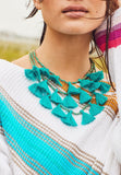 Gia Necklace - Turquoise