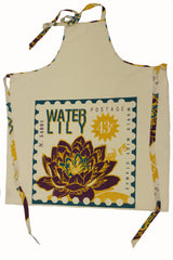 Postage Apron - Waterlily