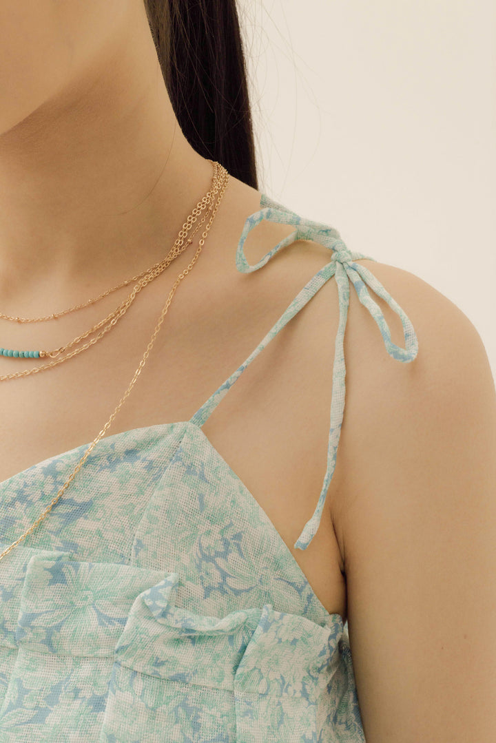 Empat Layer Necklace in Gold