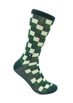 CheckerBox Socks - Wall St