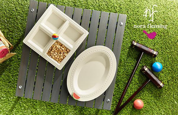 Nora Fleming Square Melamine Tray