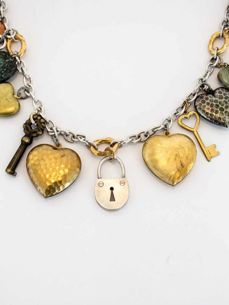 """Key to My Heart"" Necklace - SOLD"