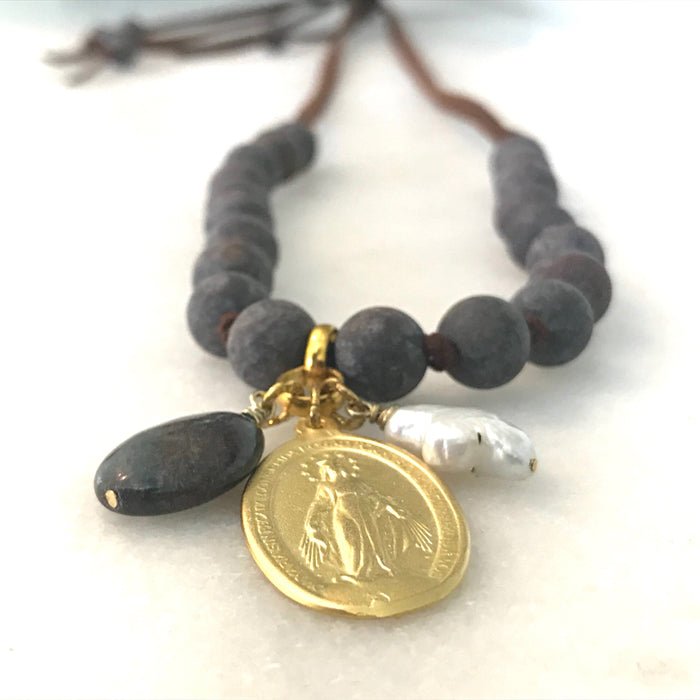 Sage Necklace (Miraculous Mary)