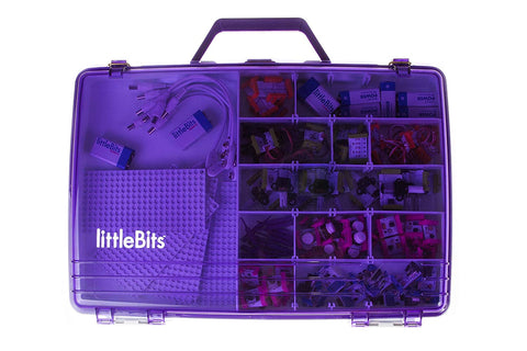 littleBits Purple Tacklebox 660-0013-0000A