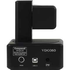 VDO360 VPTZH-04 CompassX HD PTZ USB Camera with 10x Optical Zoom