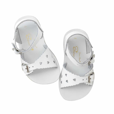 Salt Water Sandals Surfer - Sweetheart White [LAST ONE]