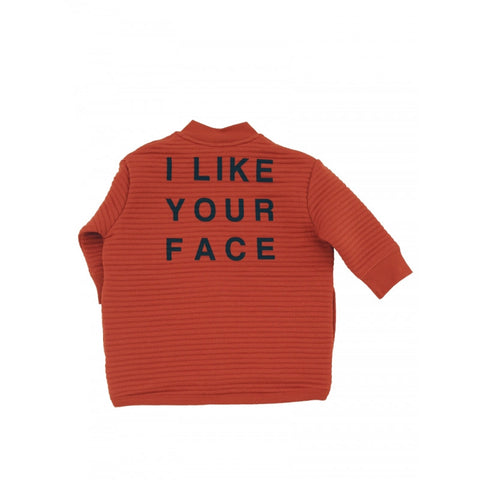 Tiny Cottons Padded Jacket | Orange [LAST ONE]