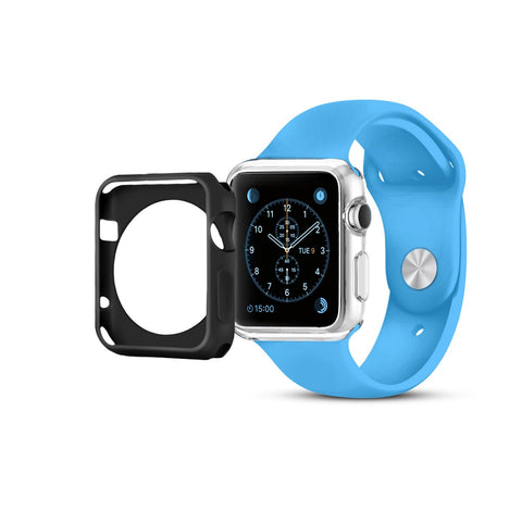 Apple Watch Case - 38mm or 42mm in Black or Clear