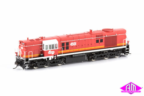 45 Class Locomotive 4501 Candy Red Roof/White Cab 45-16