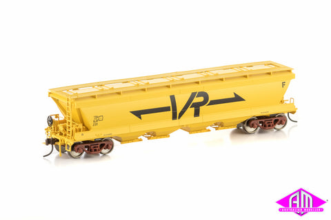 GJF Grain Hopper VR Yellow 4 car pack VGH-20