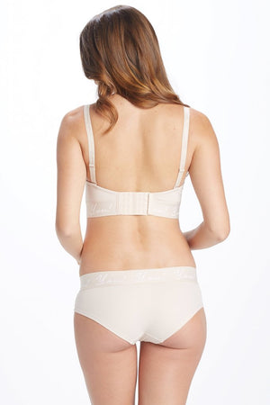 Detailed back Shot of Ziva Nude Maternity & Nursing Bra
