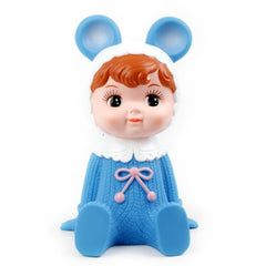 Blue Woodland Doll Money Box