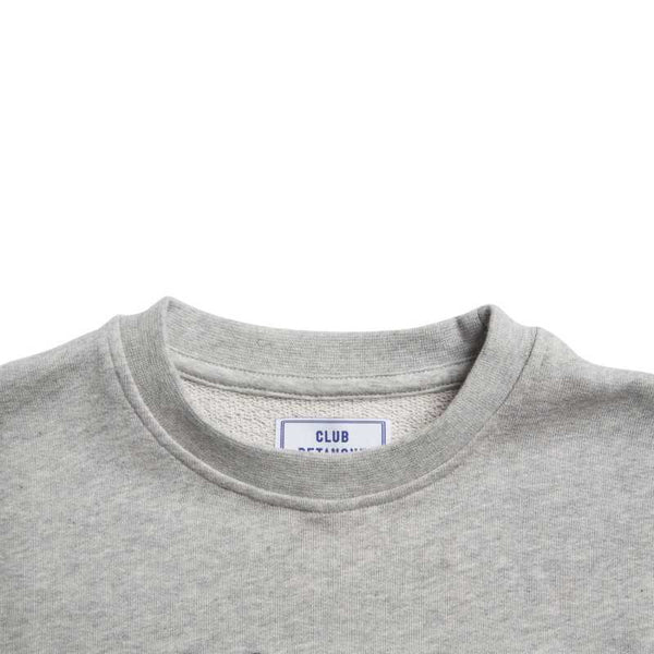 Velo Passion Sweat in Heather Grey