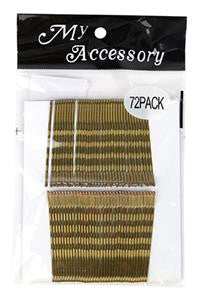 Regular Bobby Pins in Blonde 72 Pack