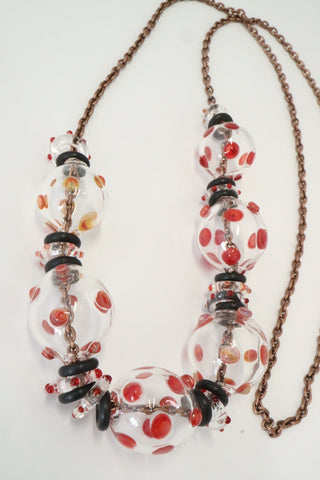 Bubble Neckpiece - Polka dots