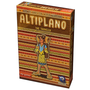 Altiplano - The Traveller expansion for the board game Altiplano