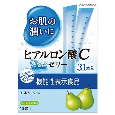 Earth Hyaluronic Acid C Jelly 31 sachets (formerly Otsuka Jellies)