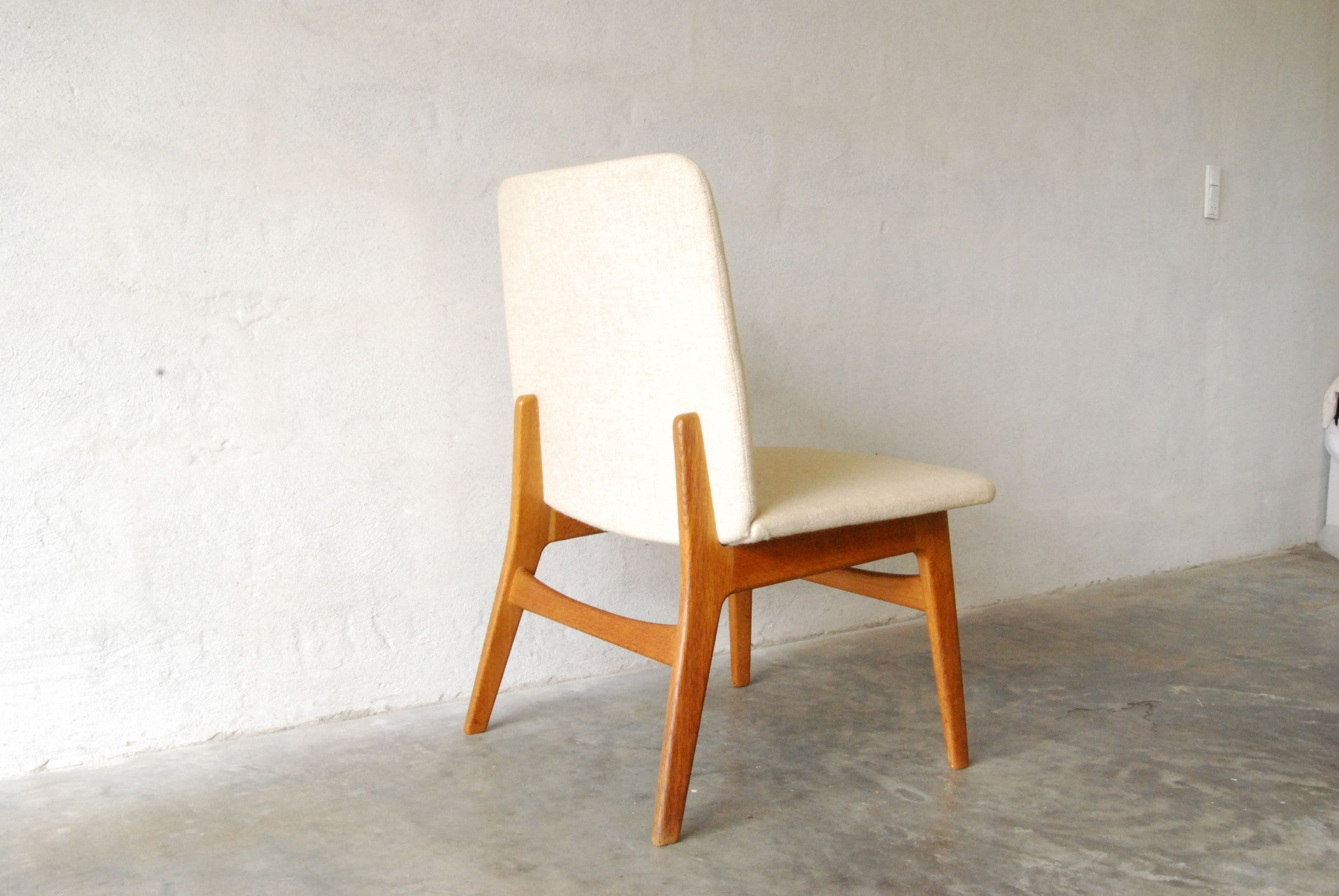Pair of occasional chairs by Børge Mogensen