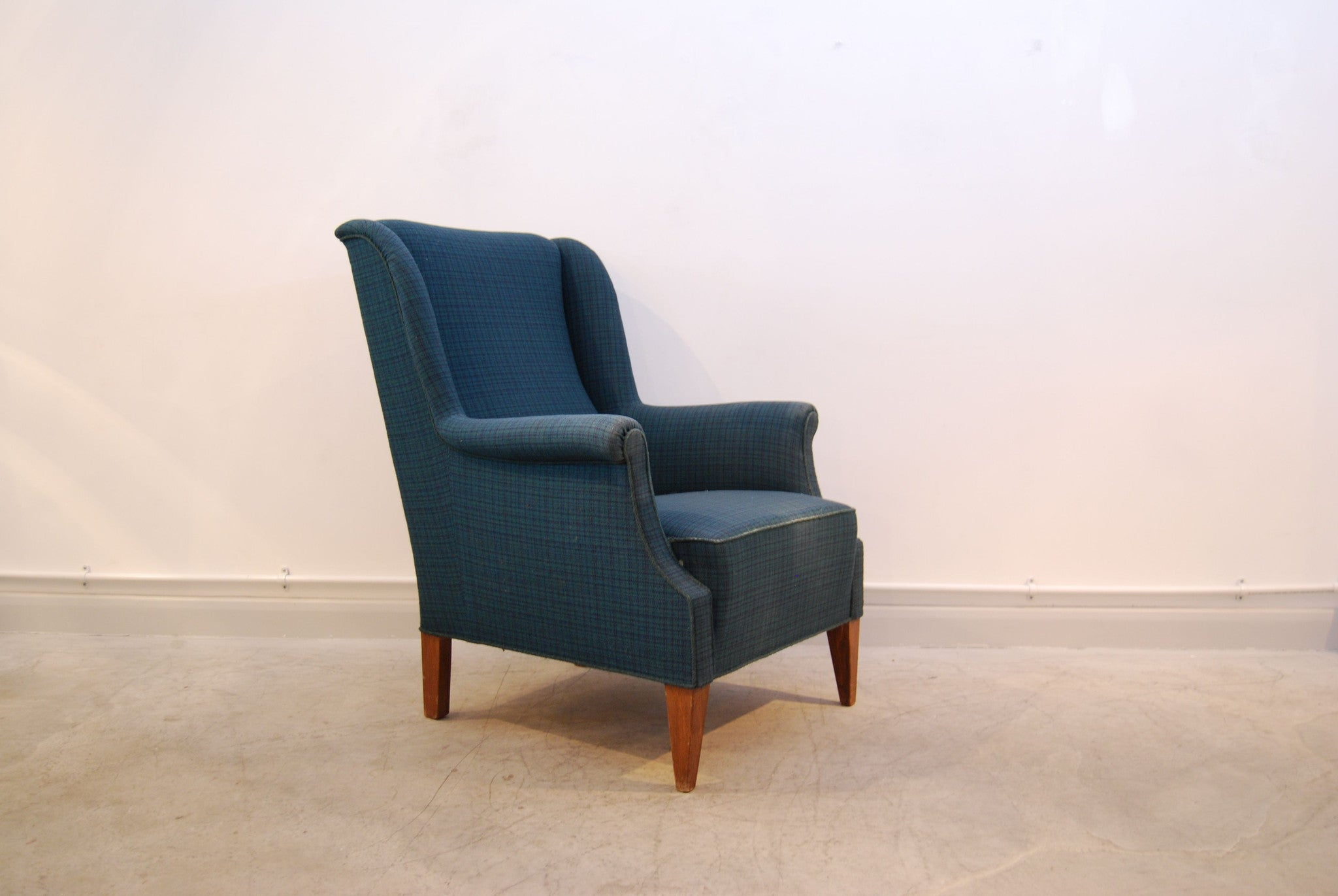 Highback 1940s occasional chair