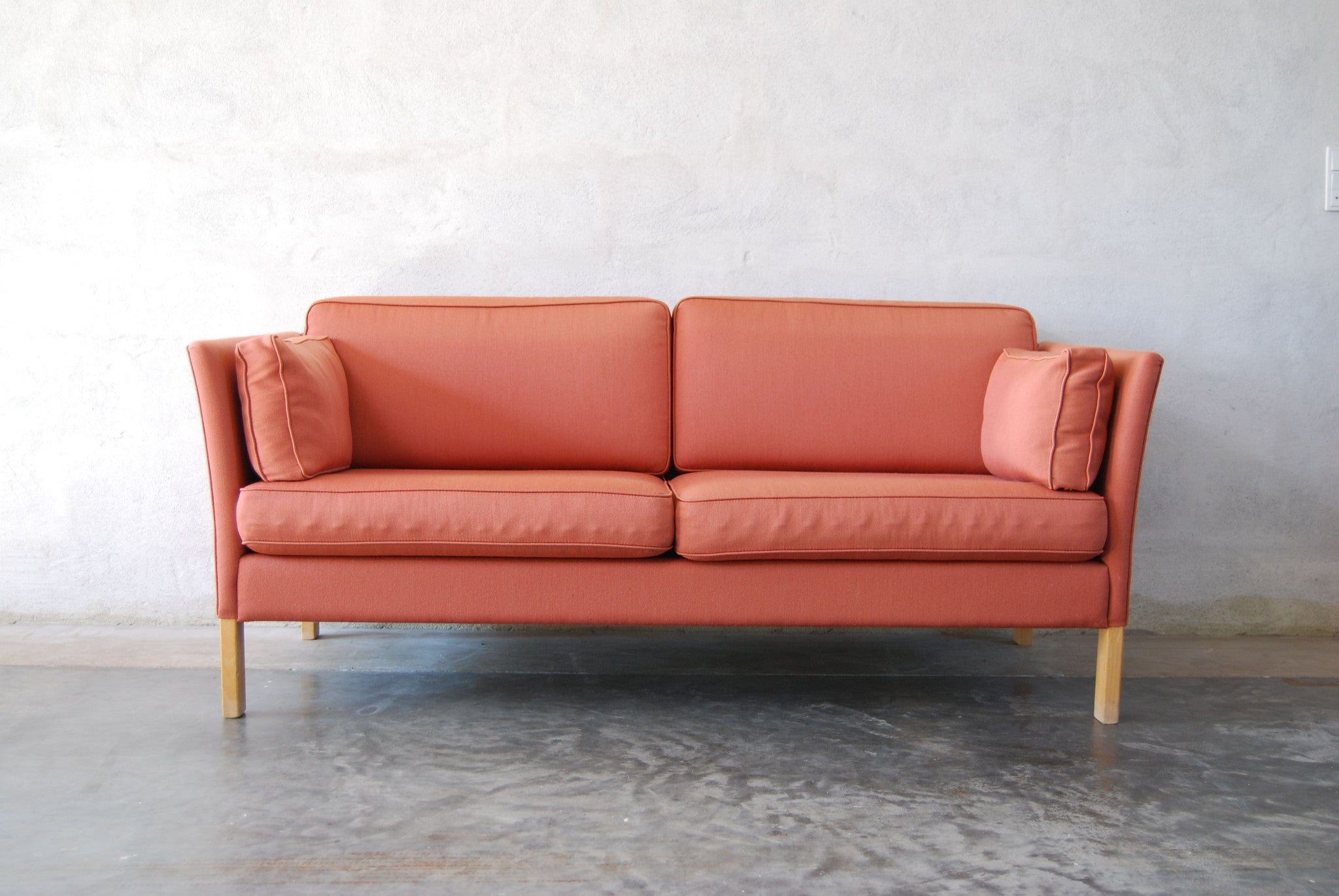Two seat sofa by Erik JíŸrgensen