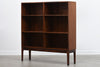 Rosewood bookcase with adjustable shelving