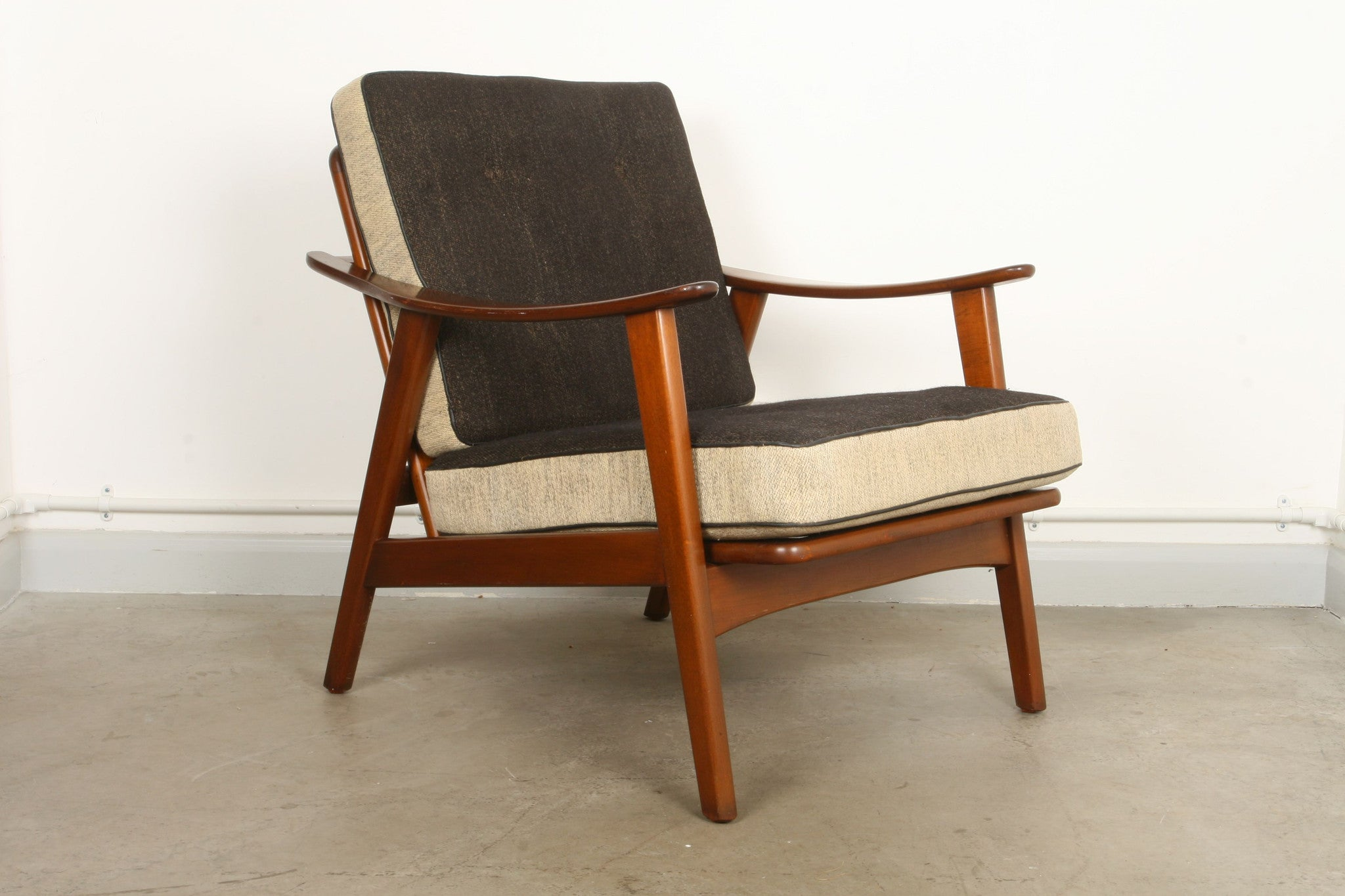 1950s low back lounger