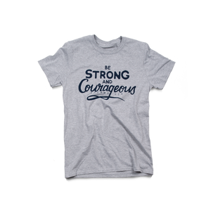 Strong & Courageous Sport Grey