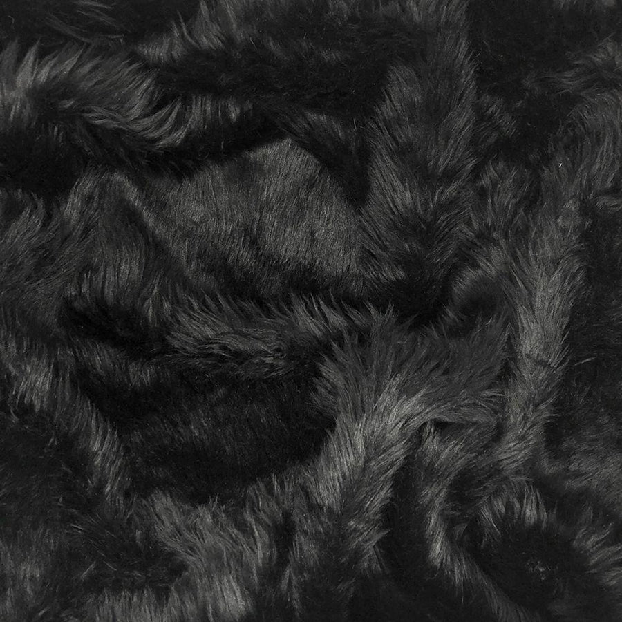 Shag Black Faux Fur