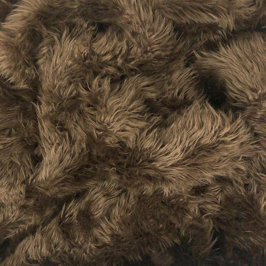 Shag Brown Faux Fur