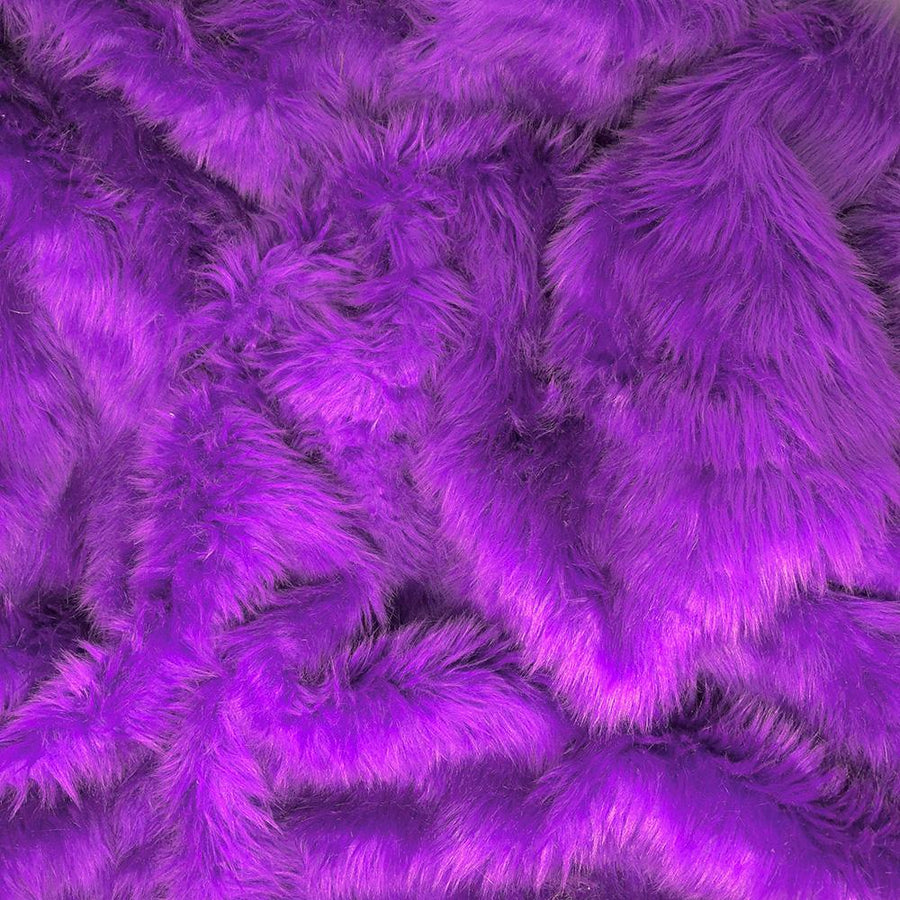 Shag Purple Faux Fur