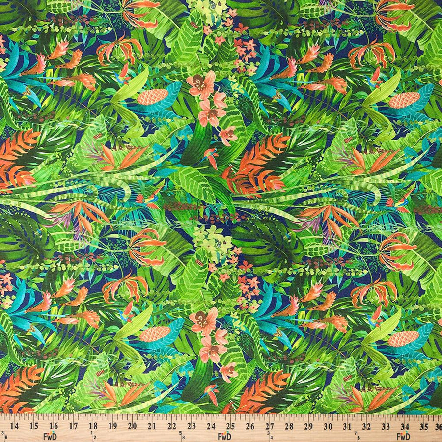 Ottertex®Canvas Printed - Jungle