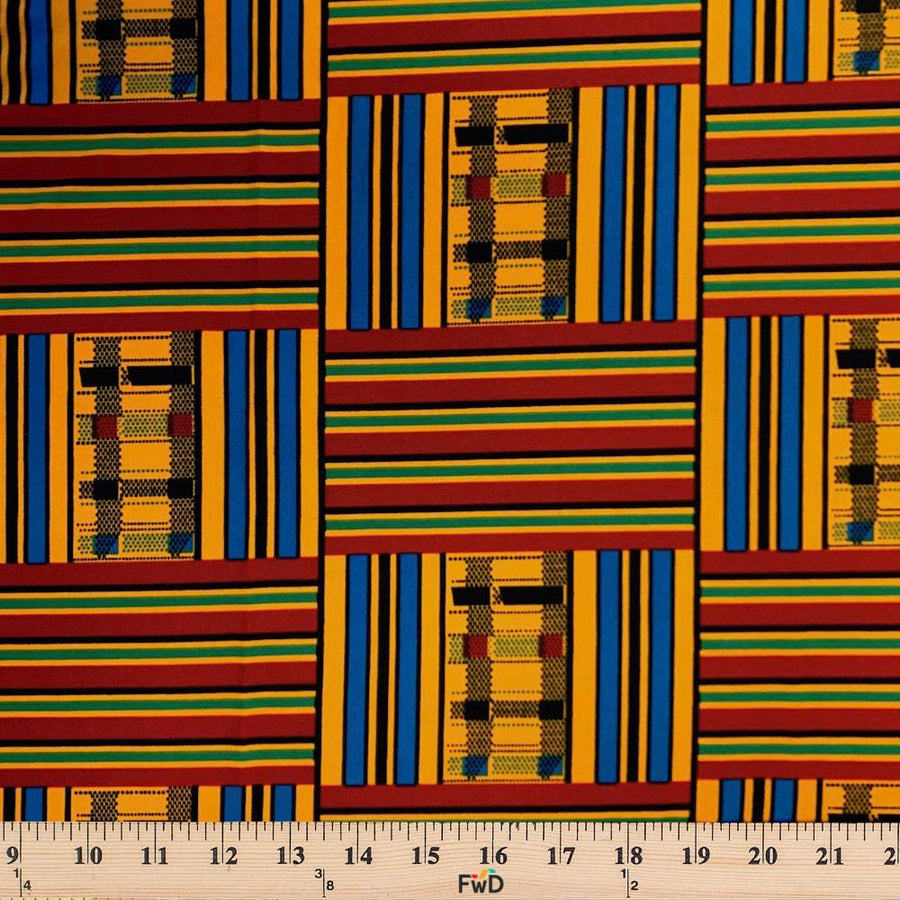 Kente African Print DTY Brushed (10-3)