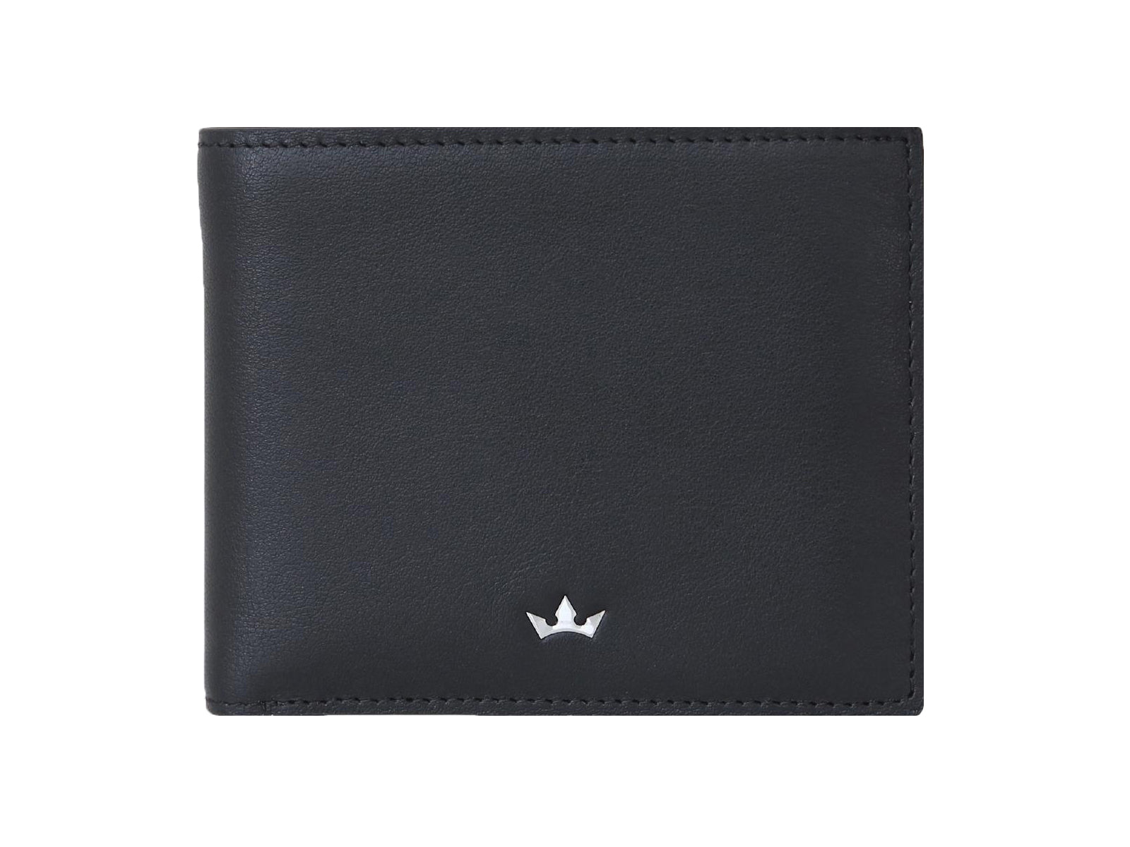 Roderer Bifold Wallet 12 Card Roma Black