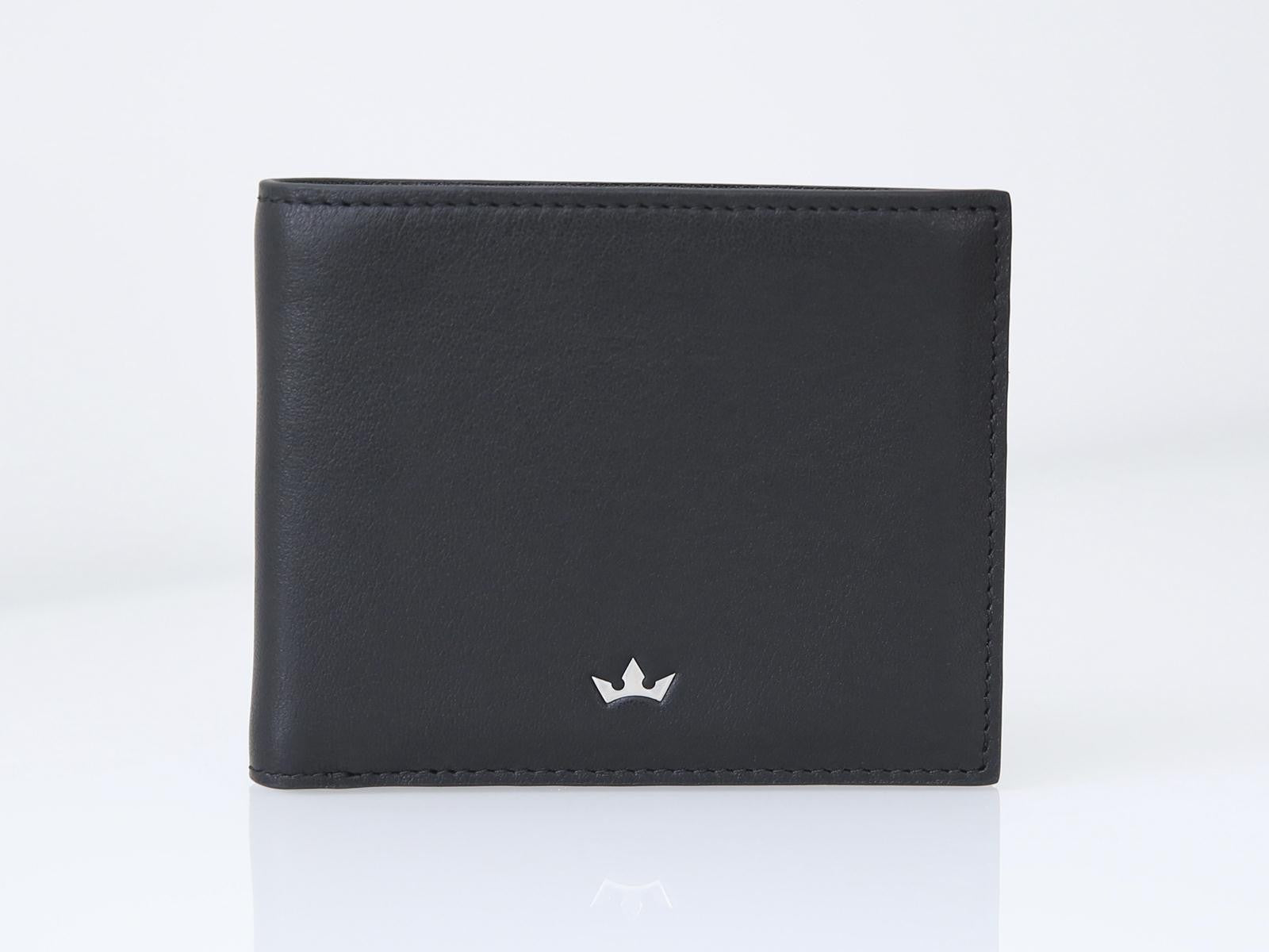 Roderer Bifold Wallet 6 Card Roma Black