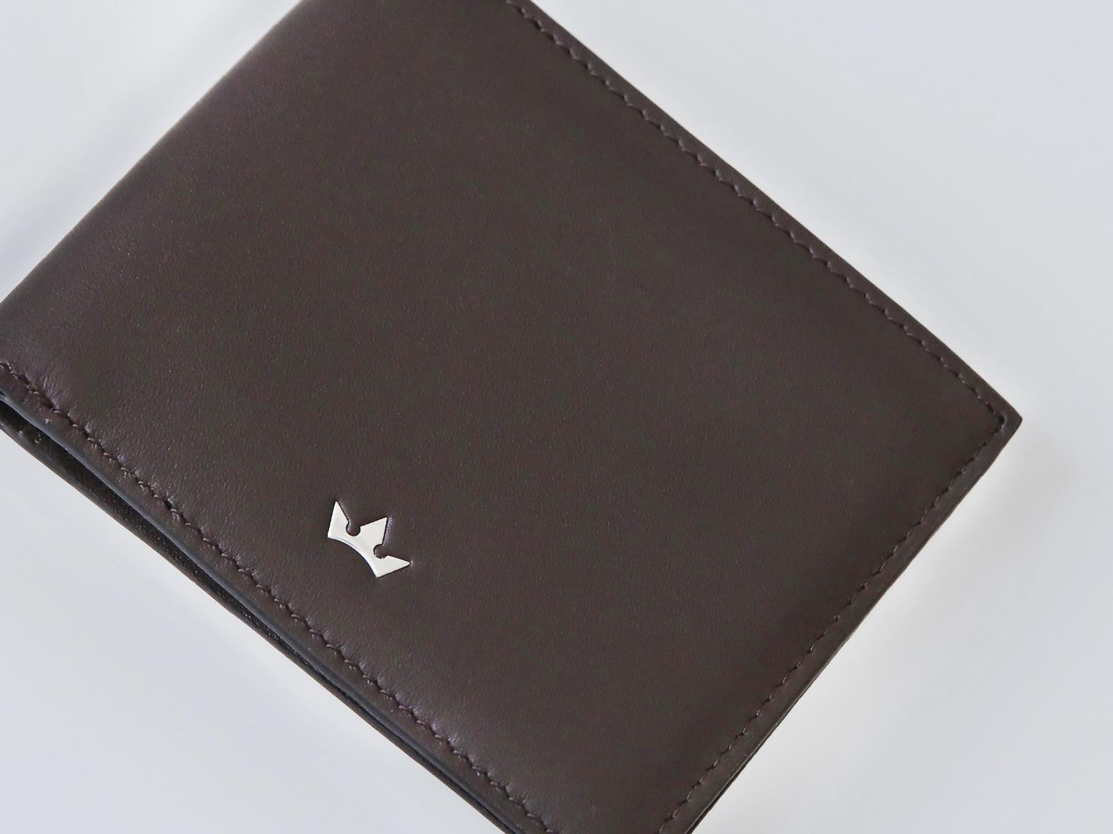 Roderer Bifold Wallet 6 Card Roma Brown