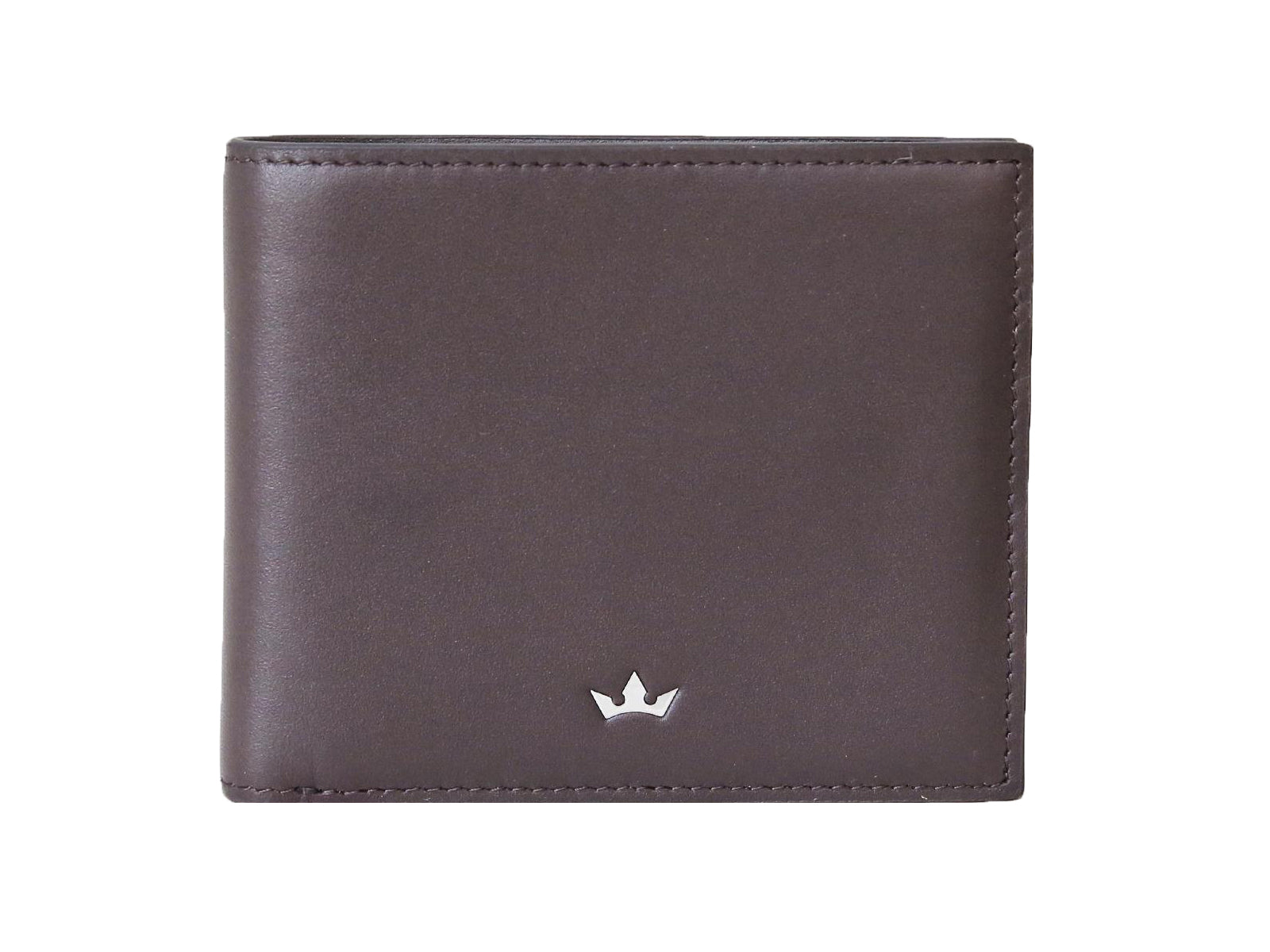 Roderer Bifold Wallet 8 Card Roma Brown