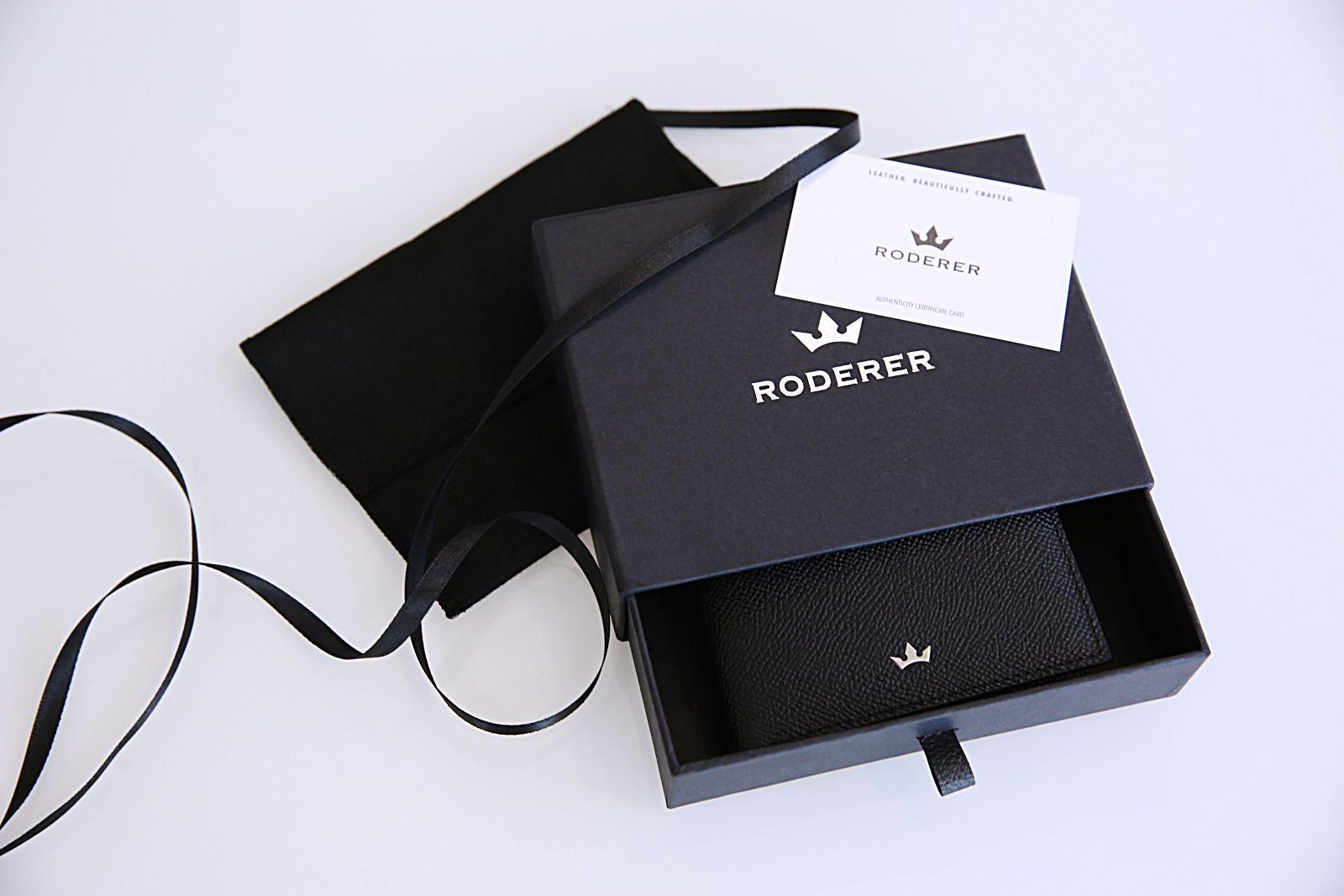 Roderer Wallet Packaging