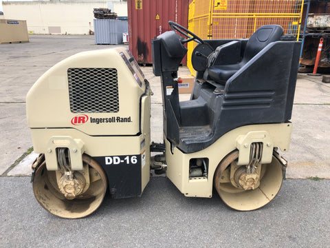 Ingersoll-Rand DD-16 Vibratory Double Drum Roller