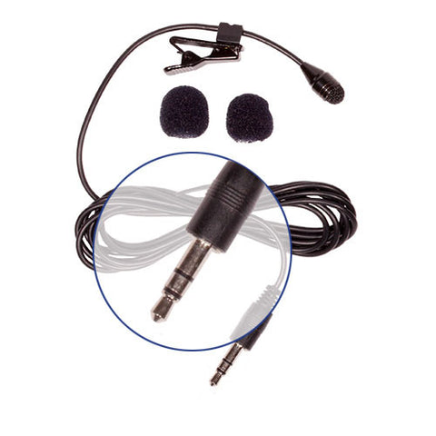 Picture of HQ-S Stereo Lavalier Microphone