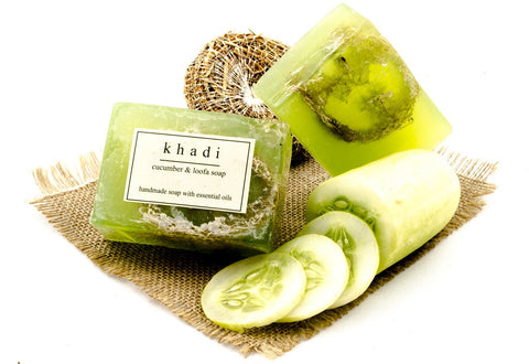 Cucumber & Loofah Soap - 125 gm