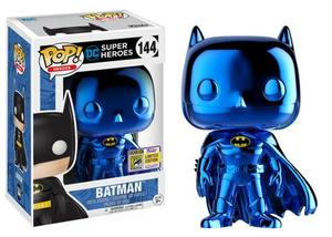 DC Comics BLUE CHROME BATMAN 2017 Toy Tokyo SDCC Exclusive Funko Pop