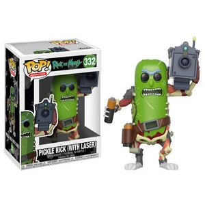 Rick & Morty PICKLE RICK WITH LASER Funko Pop