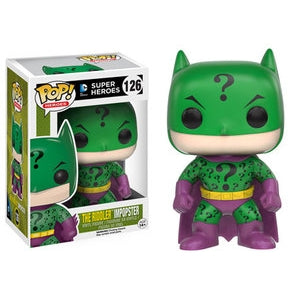 DC Comics Batman Imposter RIDDLER Funko Pop