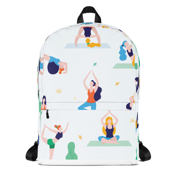 BattleoftheBraids (BOTB) Helga Yoga Backpack