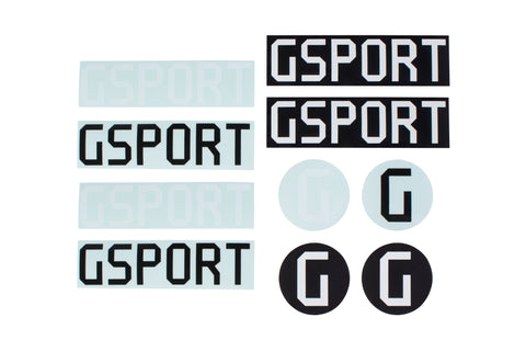 GSport Assorted Sticker Pack