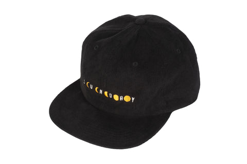 Sunday Phased Corduroy Hat (Black)